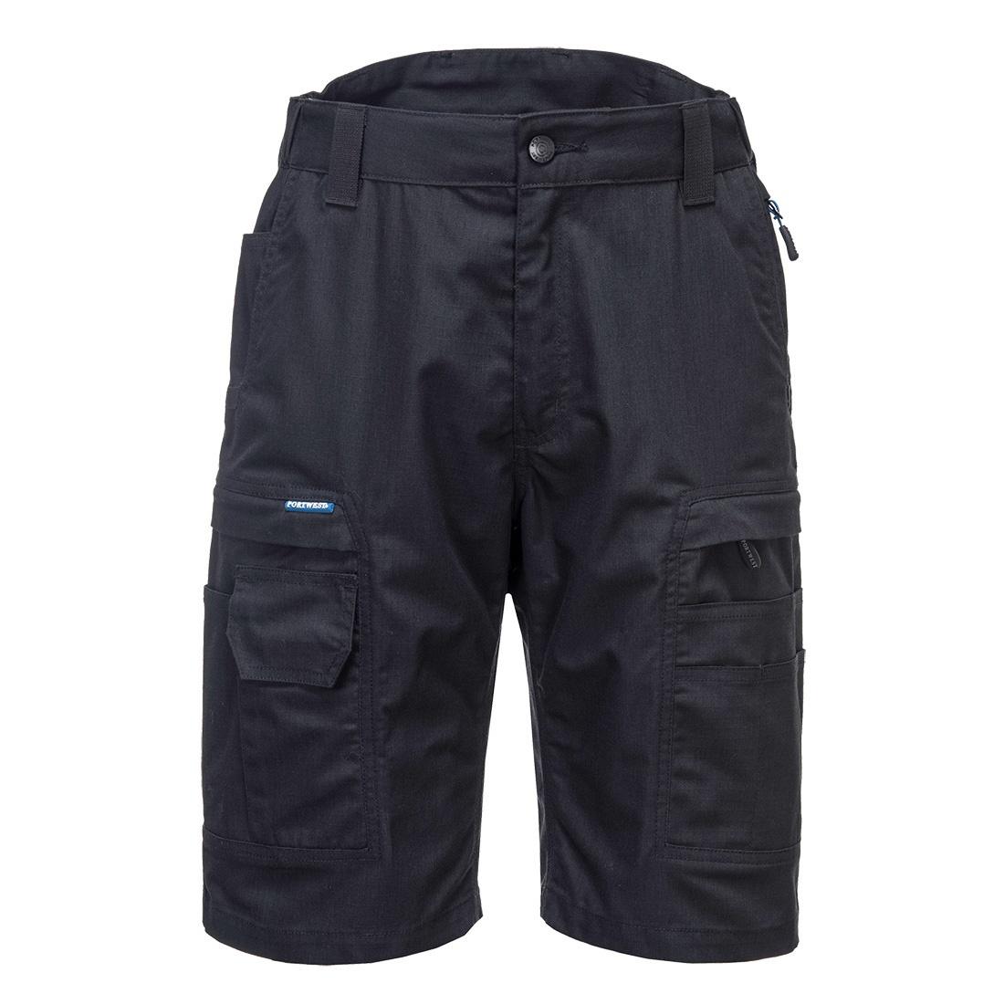 Portwest KX3 Ripstop Shorts - Black
