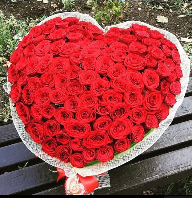 Korpa 101 ruža 22