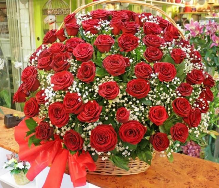 Korpa 101 ruža 23