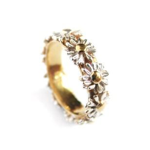 Alex Monroe Daisy Wreath Ring