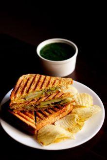 Veg Sandwich For Kids