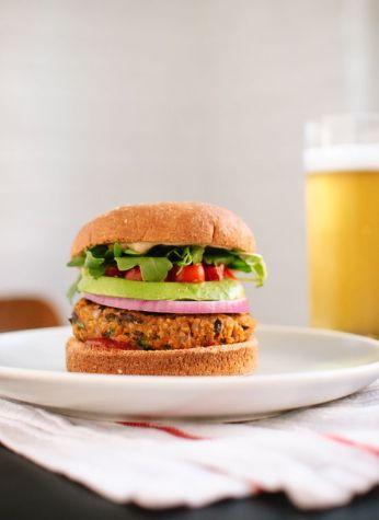 Aloo Patty Burger 1