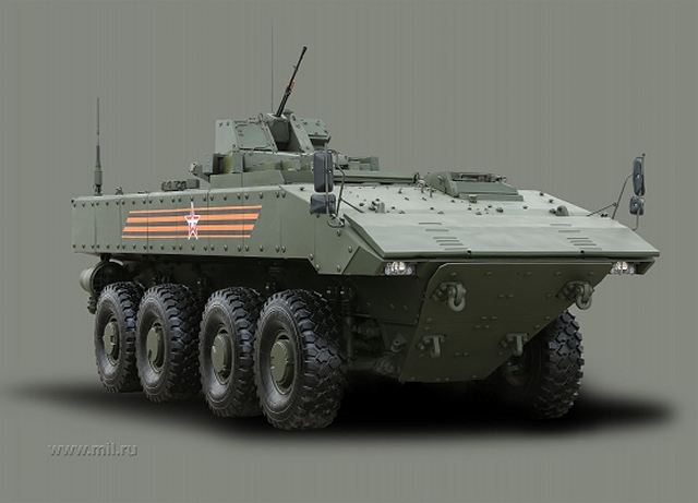 Boomerang_BTR_wheeled_8x8_armoured_vehicle_personnel carrier_Russia_Russian_army_line_drawing_blueprint_001
