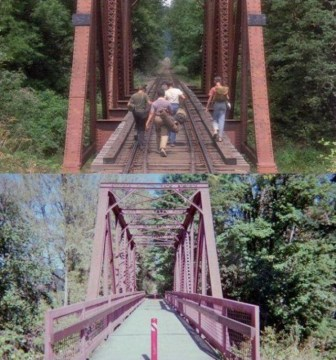 Stand by Me setting, then and now