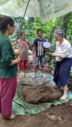 tecnica cob pdc organica ecologica red de guardianes de semillas ecuador permacultura agroecologia