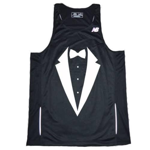 Redshirt Running Men's Tuxedo Singlet