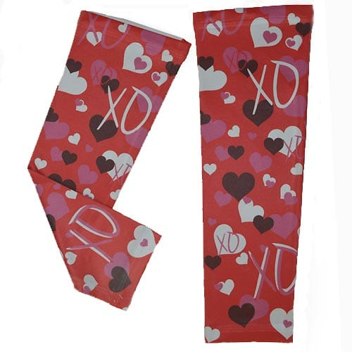 Valentines Day Running Arm Sleeves