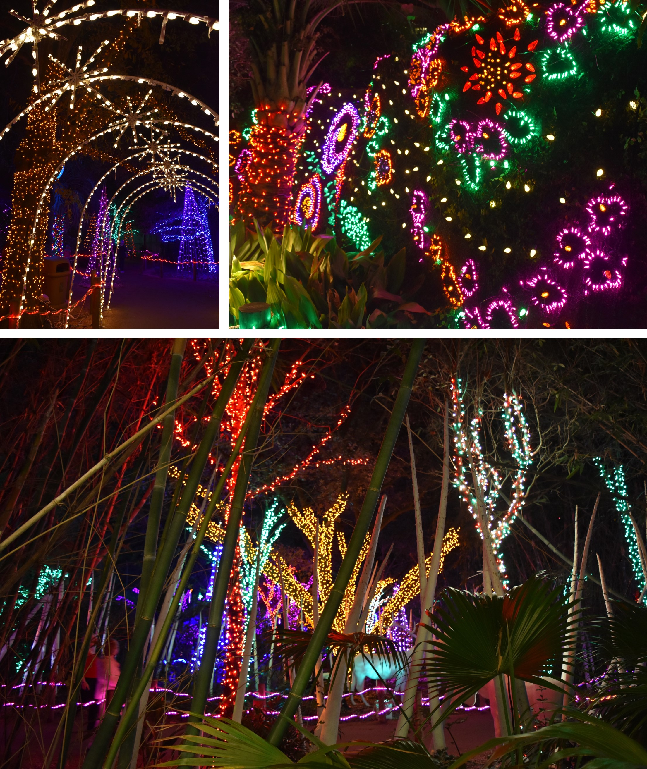 Channeling My Inner Child At Houston Zoo Lights