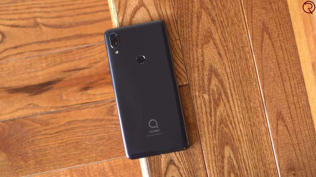 Alcatel 3V 2019 back side