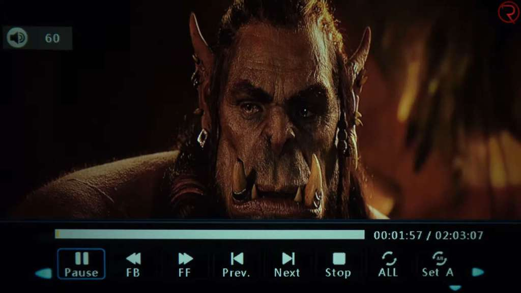 DBPOWER L21 1080p video