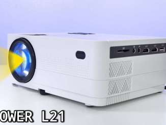 DBPOWER L21 video projector