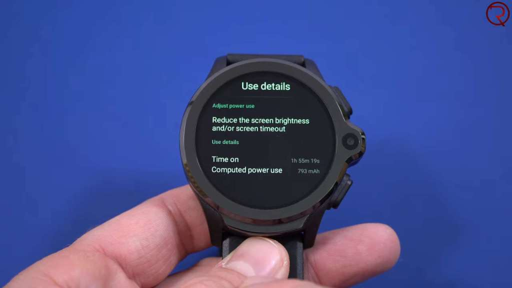 Kospet Prime Smartwatch screen on time
