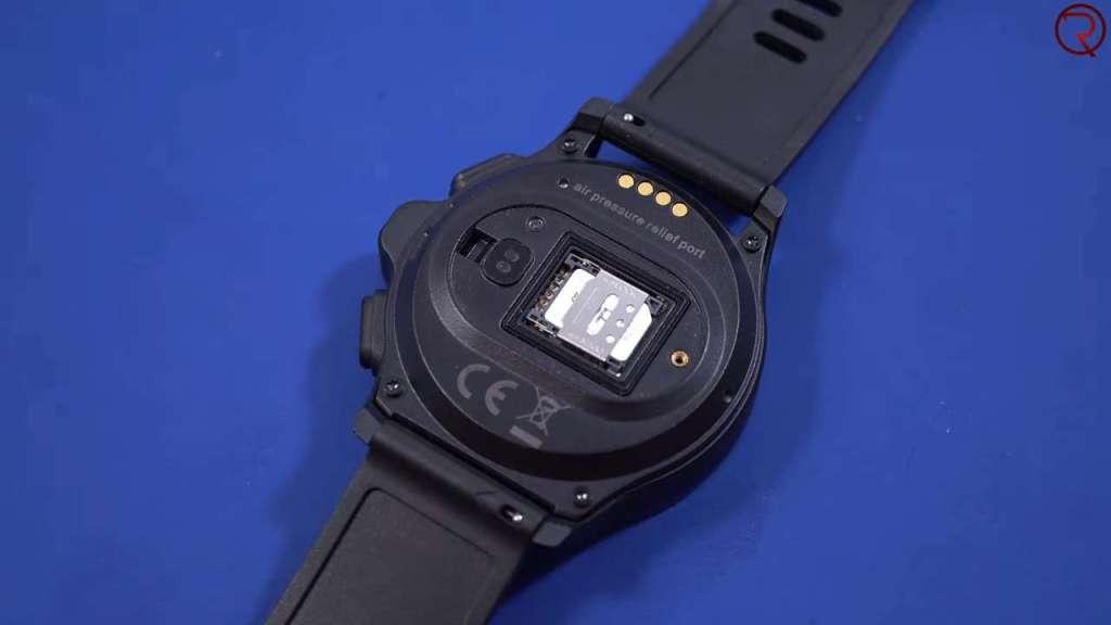 Kospet Prime Smartwatch SIM card installation