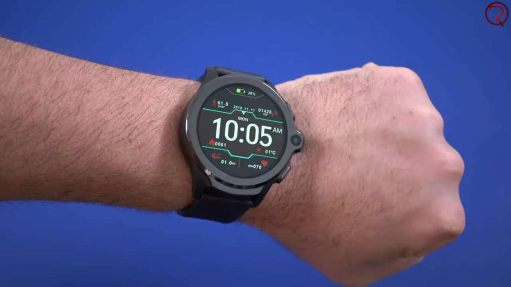 Kospet Prime Smartwatch on the hand