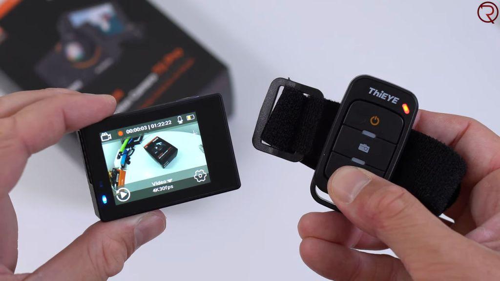 ThiEYE T5 Pro remote control
