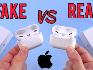Real vs Fake Airpods Pro