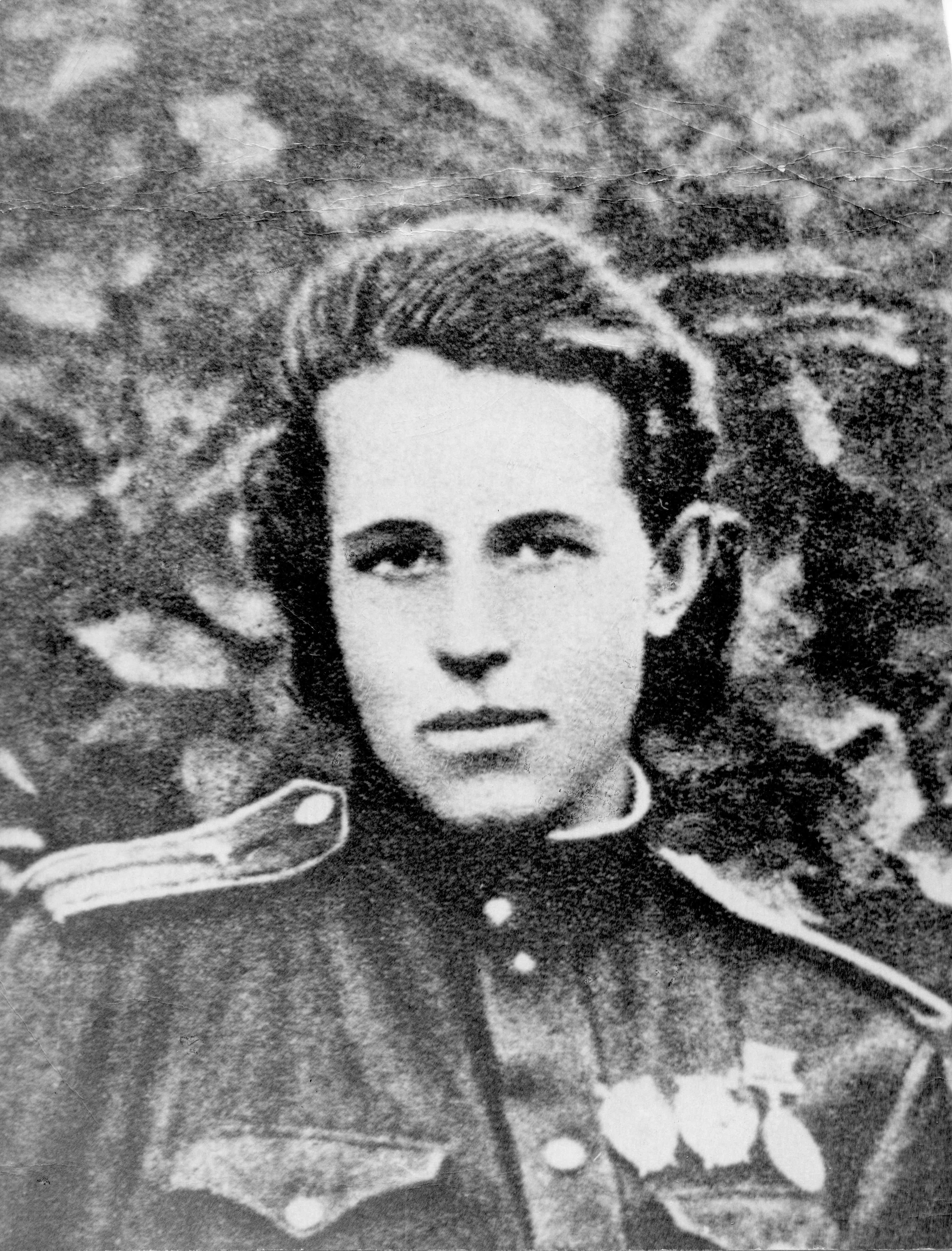 Anna in uniform,front