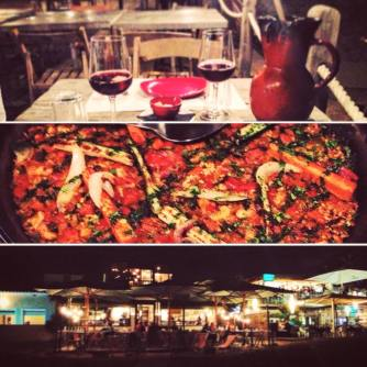 The best local vegetarian Paella and Sangria ever! Go to Baracuda on the beach in Castelldefels!