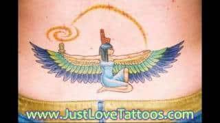 Egyptian Cat Tattoo