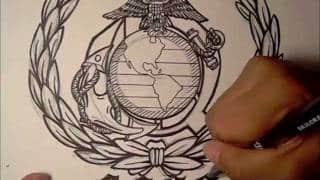 Eagle Globe And Anchor Tattoo
