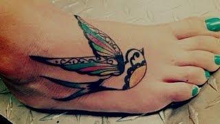 Tattoos On Foot