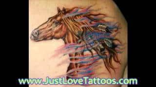 Horse Tattoos Designs
