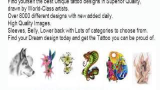 Feminine Lower Back Tattoos