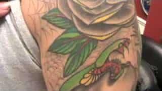 Snake Sleeve Tattoo