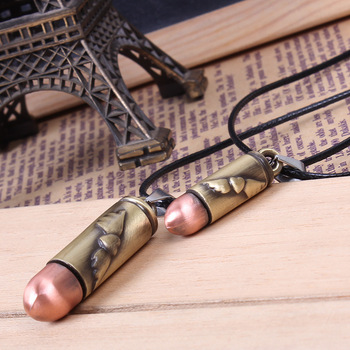 Bullet pendants, set of 2, for Angel With a Bullet