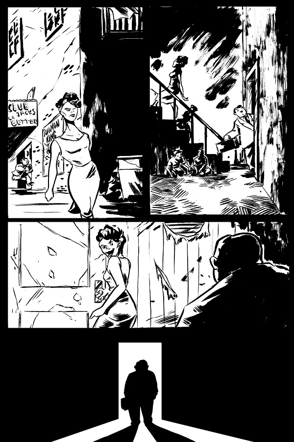 B/W rough for page 4, from YOLO