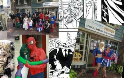 Superhero Weekend Fundraiser & Angel With A Bullet