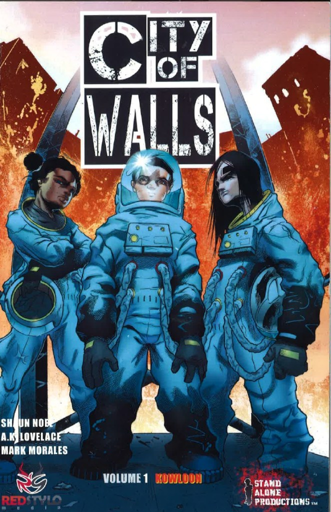 City of Walls V1 COVER