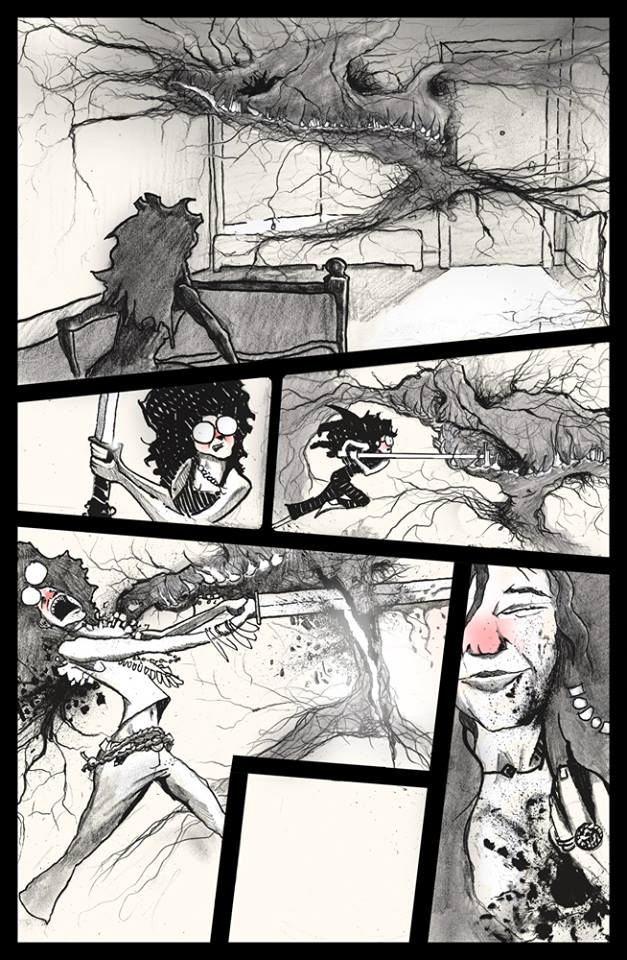 """PIP from """"Janis: Demon Hunter"""" story by Jeremy Whitley and Andrew Jerz, inspired by Janis Joplin"""