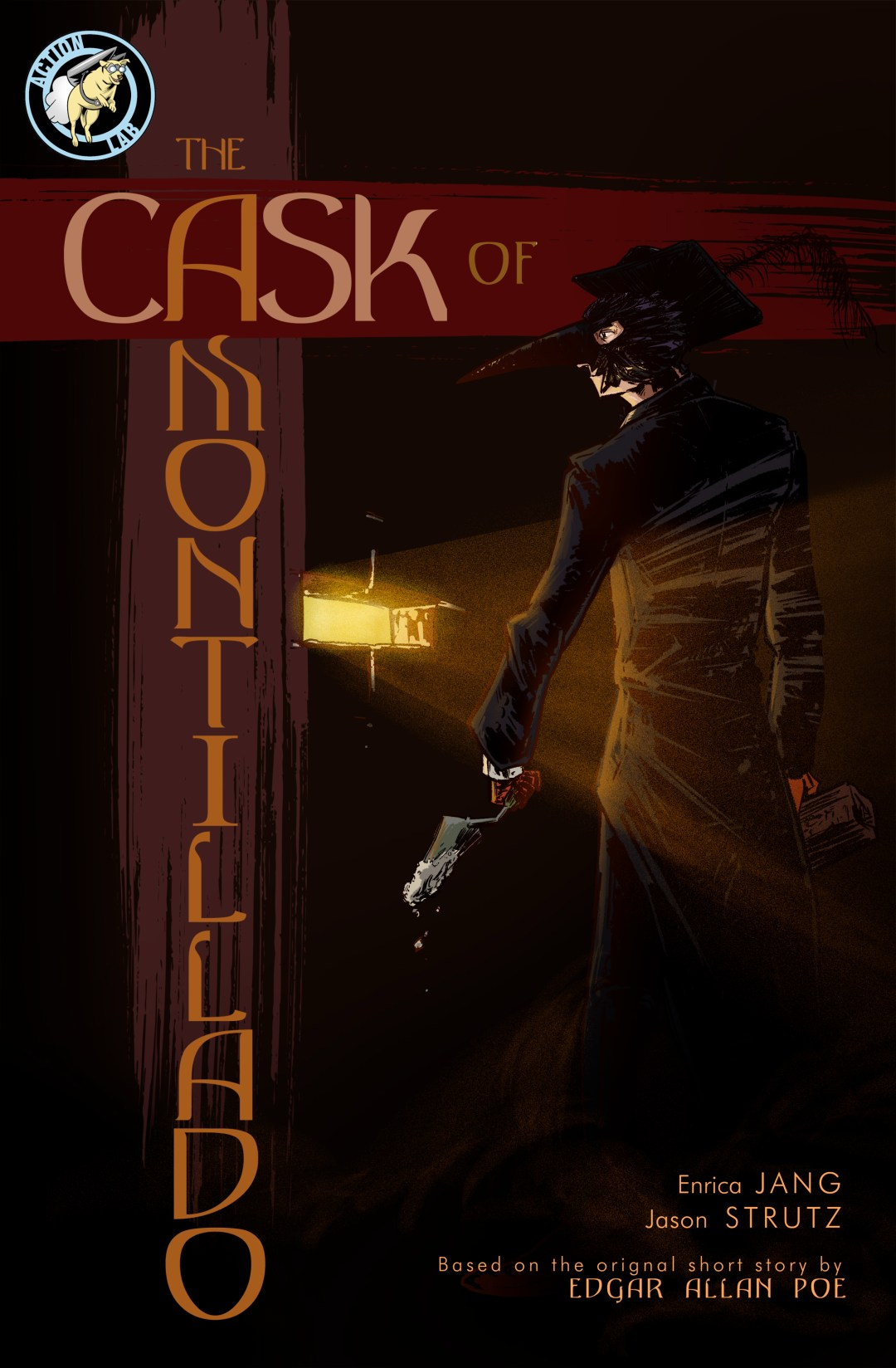 Cask of Amontillado cover Action Lab