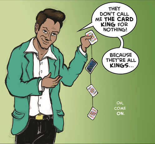 Is This Your Card? (9 of 10 stories from THE STRIP, A Twisted Vegas Comic Anthology)