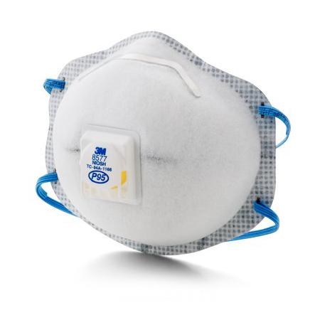3m De - 8577 Suministros V P95 Para Molestos Niveles Respirador Red o