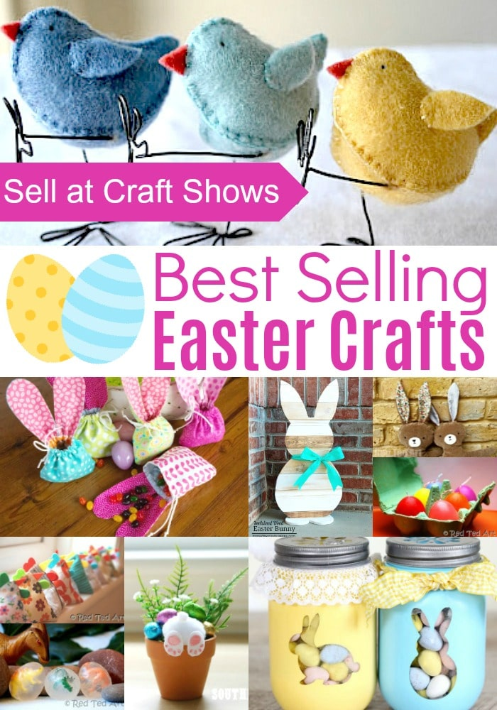 Sewing To Sell At Craft Fairs : sewing, craft, fairs, Easter, Crafts, Craft, Shows, Crafting