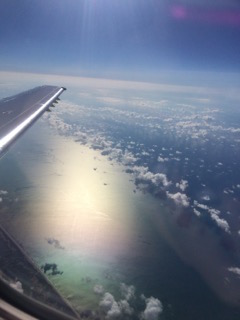 plane flight. the return. anna hull