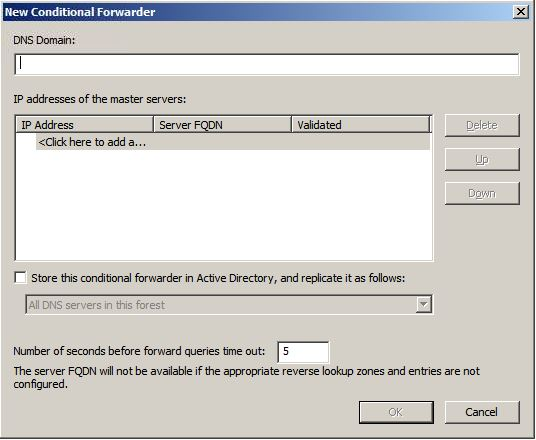 conditional forwarder2