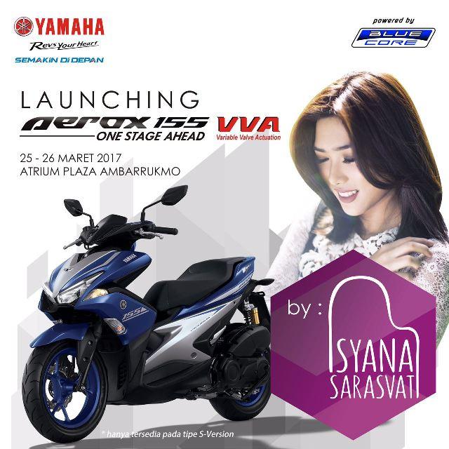Yamaha Aerox 155 VVA sudah ada di area Solo