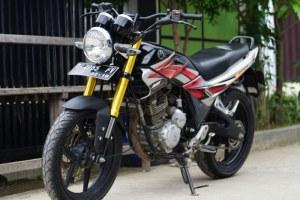 Ini Jadinya Kalau Yamaha Scorpio Modif Kaki Xabre