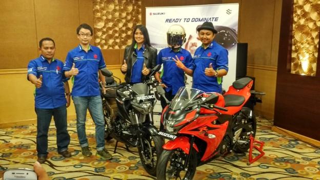 Launching Suzuki GSX-R 150 & GSX-S