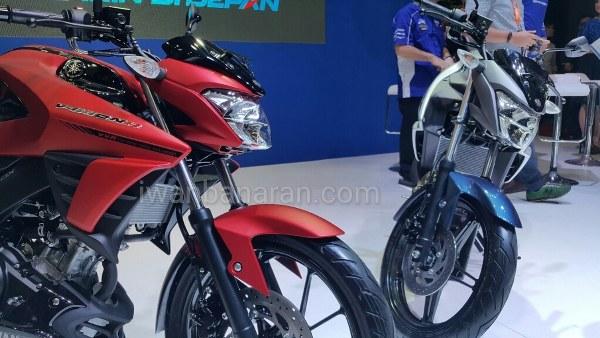 Yamaha All New Vixion 150 dan All New Vixion R 155, motor yang disangka hasil modifan tukang SPBU