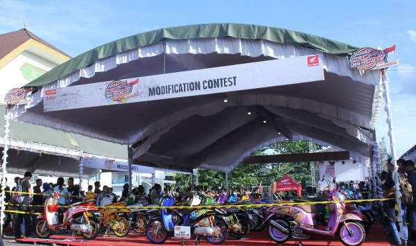 Final Battle Honda Modif Contest