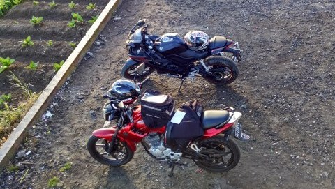 Ramadhan Morning Ride bersama Yamaha Scorpio