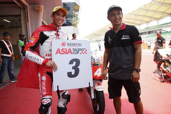 Gerry Salim Finish di Posisi 6 Asia Talent Cup