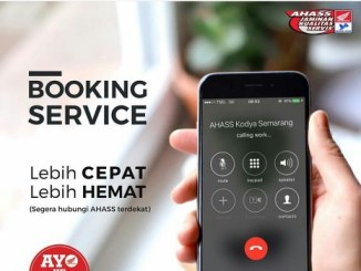 Booking Service untuk Motor Honda