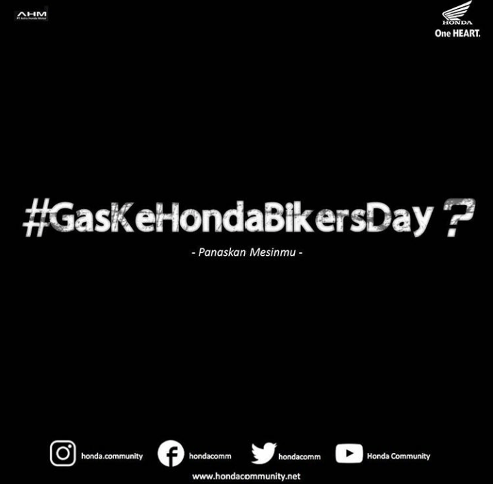 Cari_Aman Gas Ke Honda Bikers Day