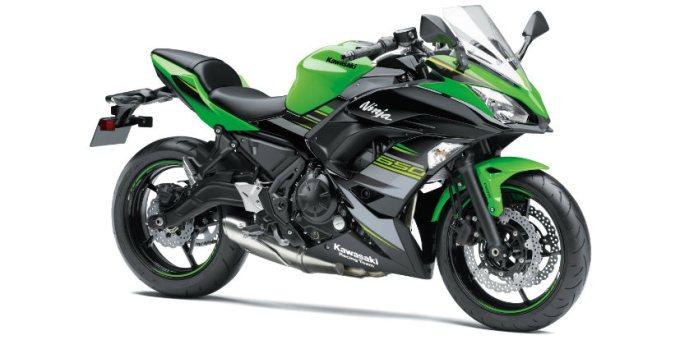 Kawasaki Perkenalkan Warna Baru untuk Tahun 2018
