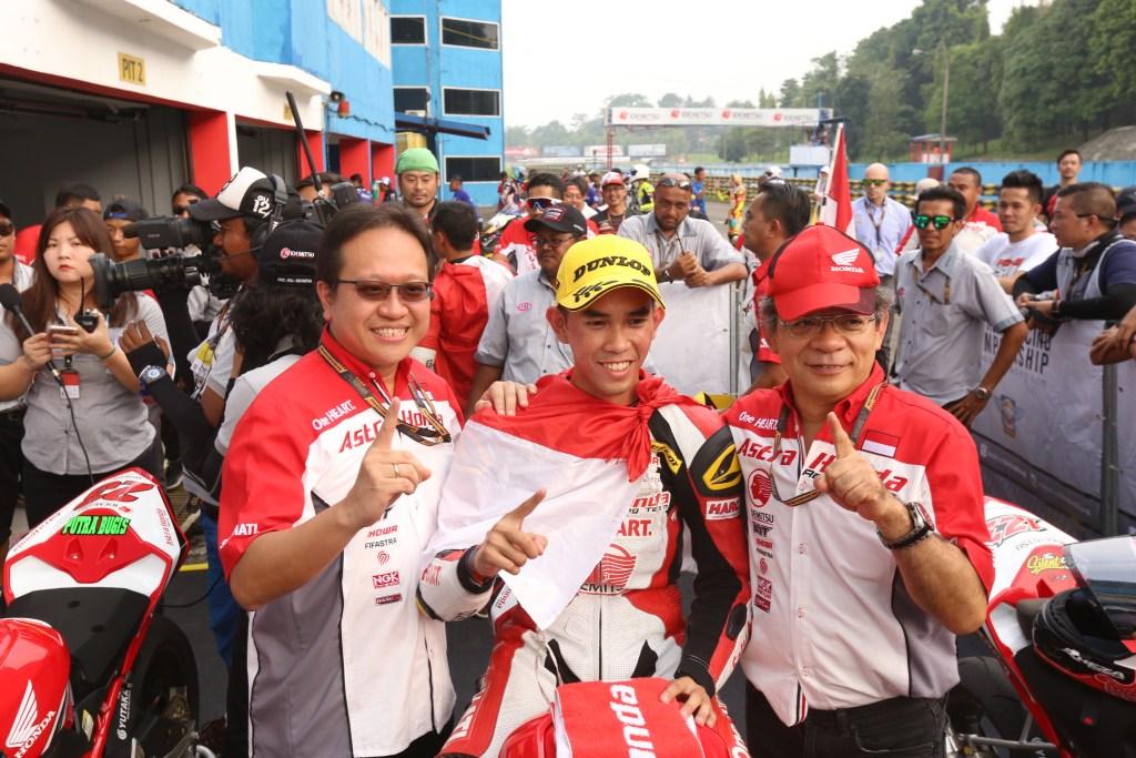 Gerry Salim Jadi Juara Umum AP250